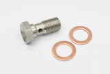 Stainless Steel Brake Fitting Adapter, Banjo, Multiple Angle & Size