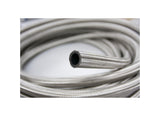 Stainless Steel Braided Fuel Oil Gasoline Hose Line by 1 Meter, Silver, Multiple Size