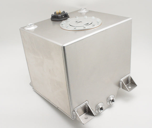 Aluminum Racing Fuel Tank Fuel Cell, With Fuel Level Sender, Cap and Fuel Cell Safety Foam (for E85), Multiple Size