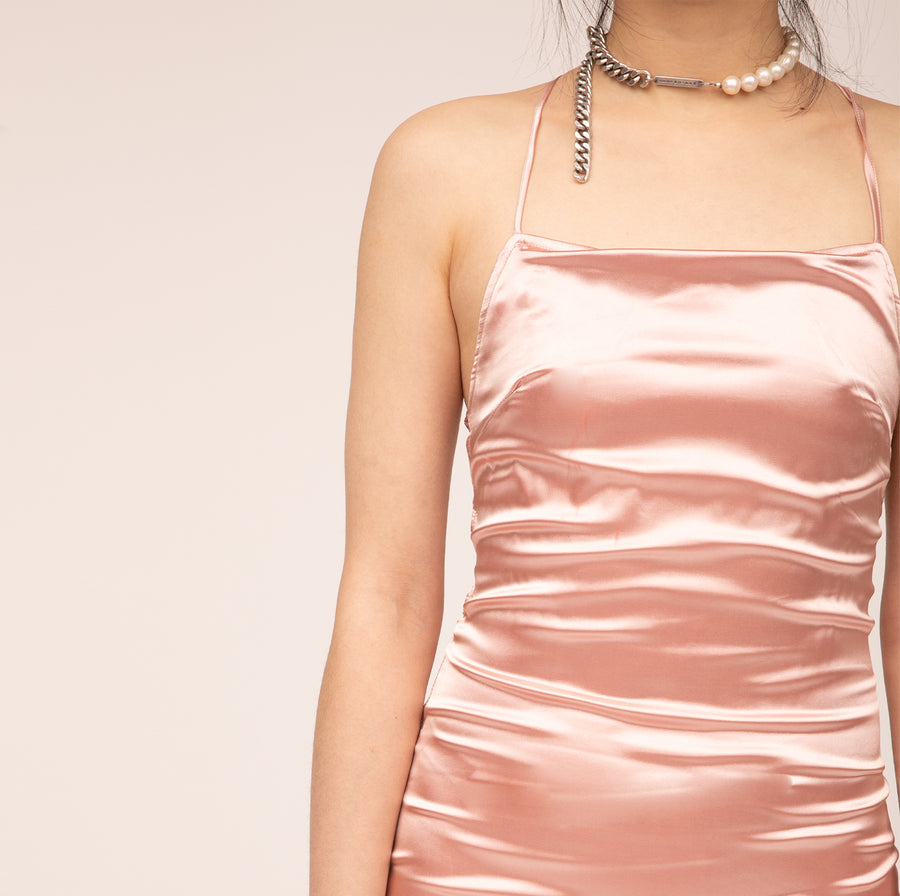 Demi Satin Dress