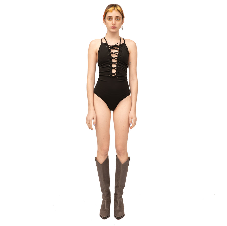 Jade Swimming Suit Black