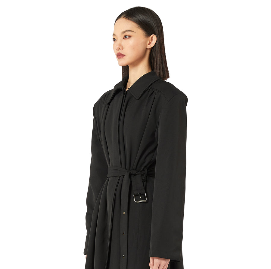 Cebus Belted Trench Coat