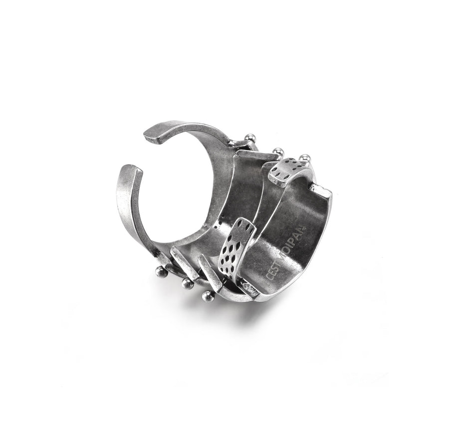 Silver Armour Ring
