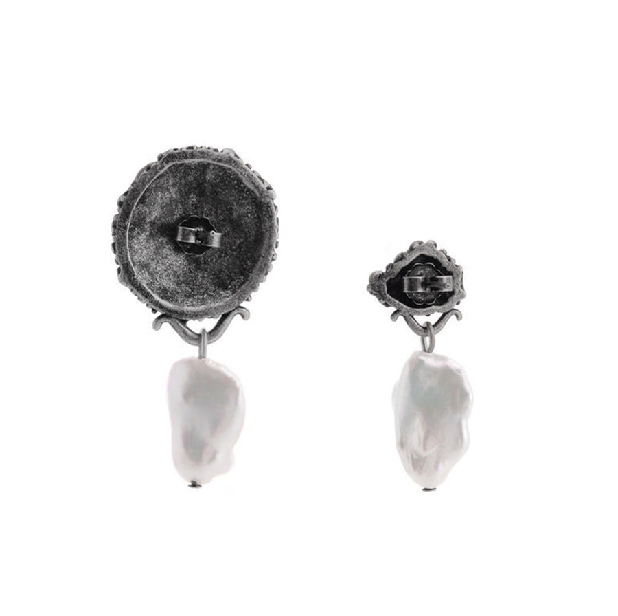Mona Baroque Pearl Earrings