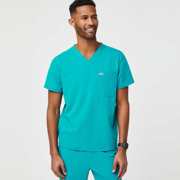 Leon™ Two-Pocket Scrub Top