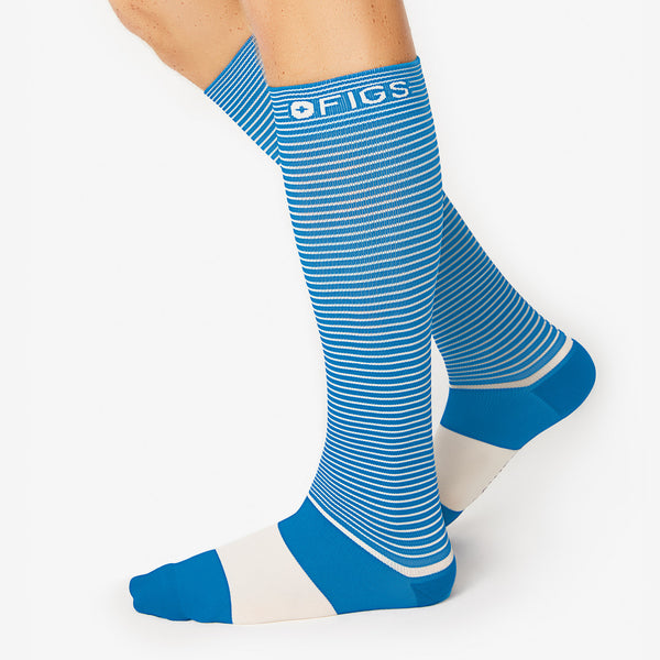 Double Stripe Compression Socks
