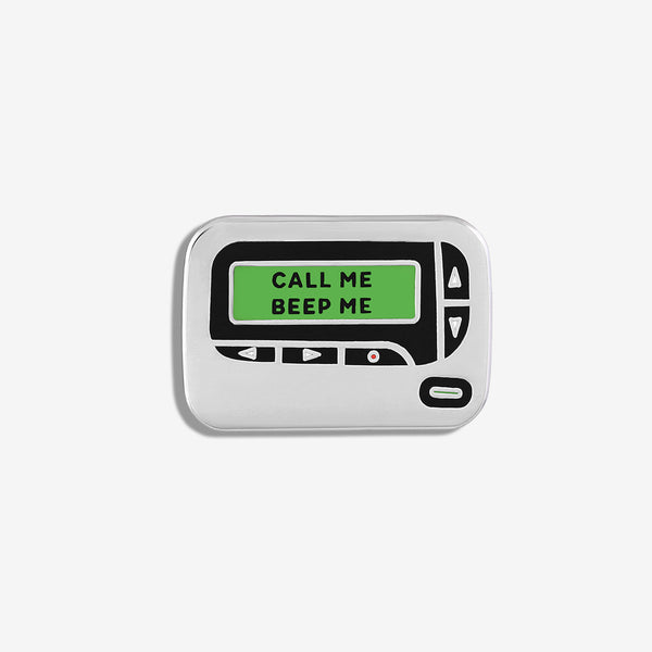 FIGS   V Coterie Pager Enamel Pin