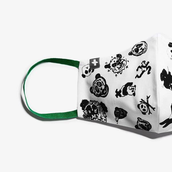 FIGS | RxArt Panda Protective Face Mask
