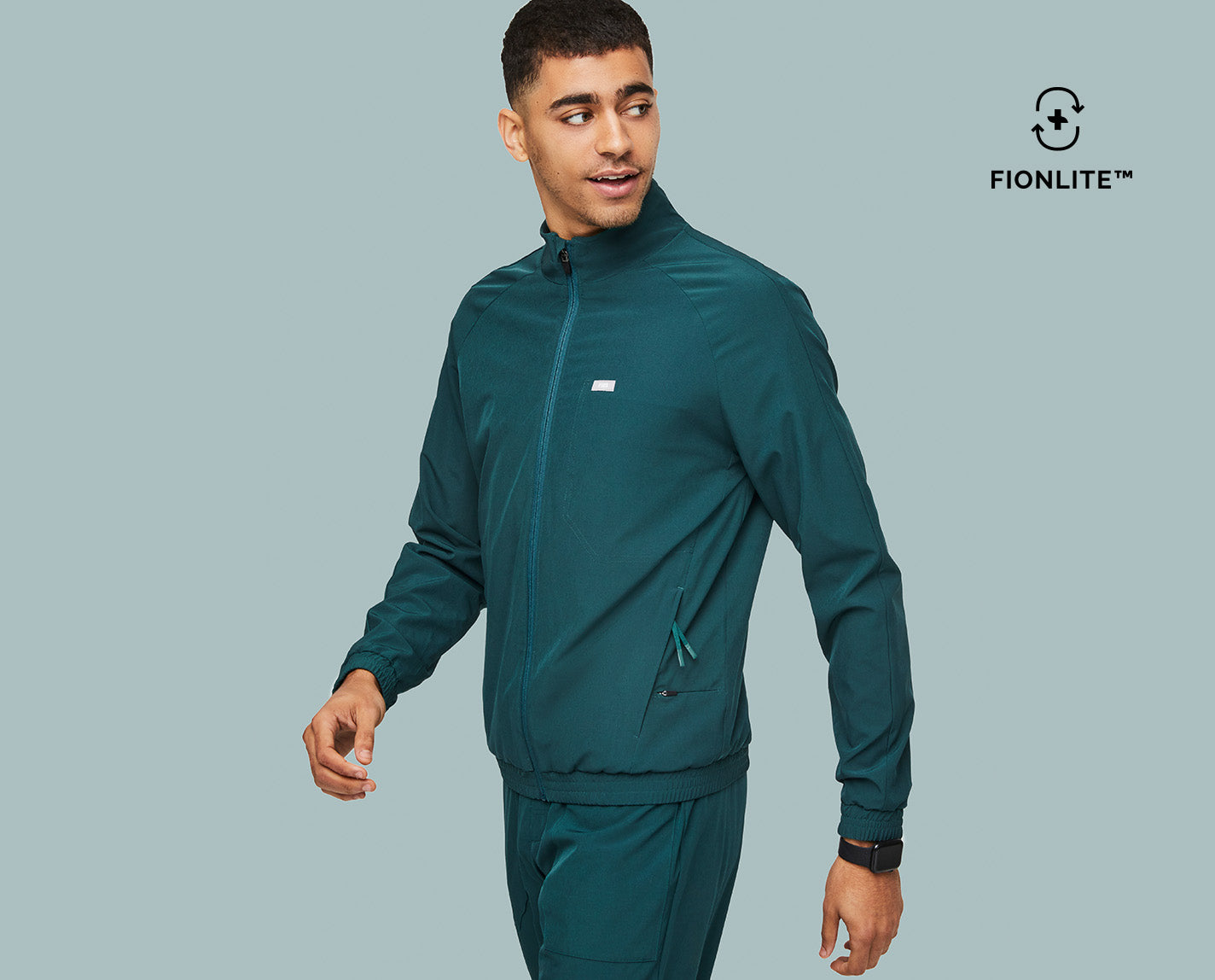 Look cool, stay warm. The Cobaki Scrub Jacket features a back yoke vent with mesh underlay for airflow, five functional pockets and is made with FIONLITE™, our new recycled content scrub fabric. Maybe the perfect jacket does exist.