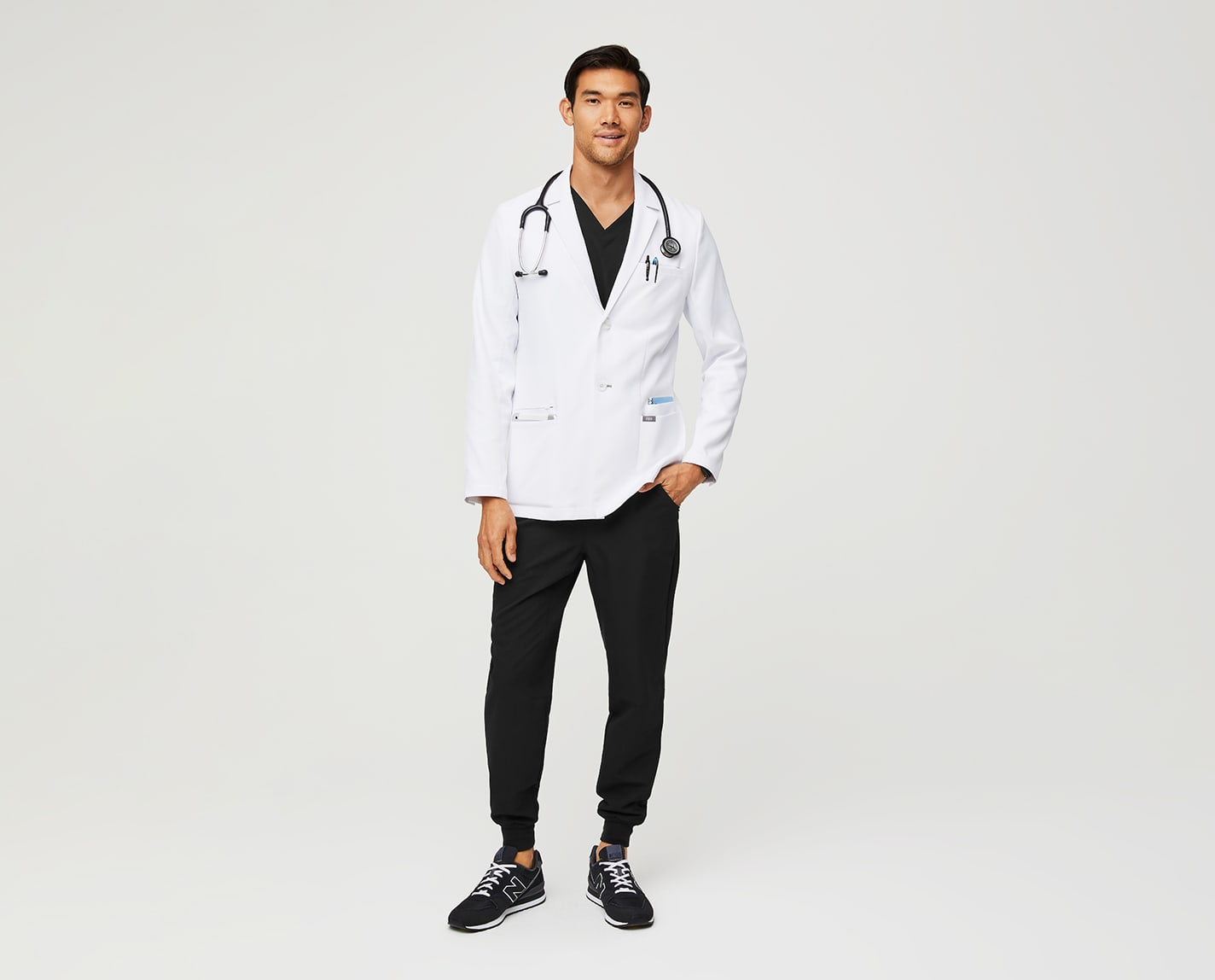 People might ask where you got your lab coat. With a slim fit and 8 pockets, the Harlem Slim Short Lab Coat is a professional and practical option. It's also anti-wrinkle, anti-static, liquid repellent and constructed with anti-sheer yarn.