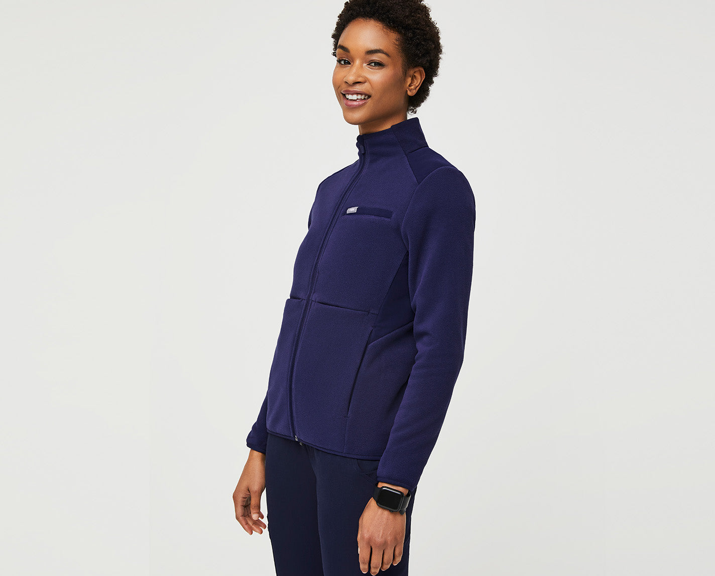 Our On-Shift Fleece Jacket is the ideal layer to combat A/C-friendly hospitals. Or unpredictable weather patterns. And, yes, of course it has lots of pockets.