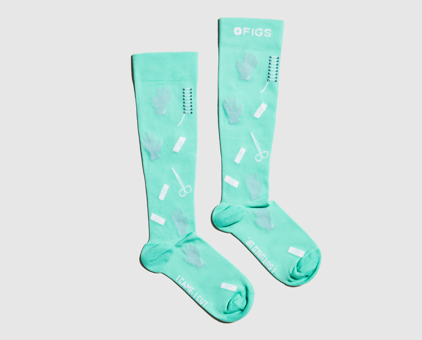 Don't forget to wear your socks. Our 100% Awesome Compression Socks help relieve tired and achy legs. They're also breathable and ridiculously soft.