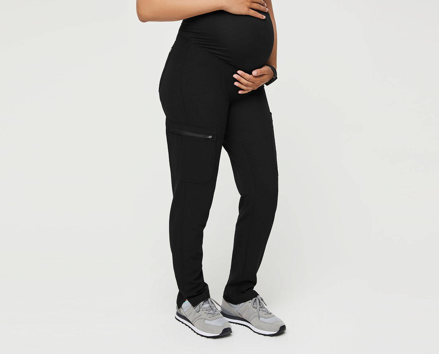 Our most stylish scrub pants — in a version that's just for moms-to-be! The Yola Maternity Scrub Pant is made of our proprietary FIONx fabric and features a tapered, slim fit, multi-tasking pockets and a soft, stretchy waistband for all stages of pregnancy.