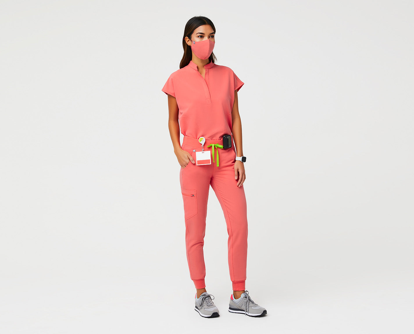 Athletically-inspired and designed to withstand the demands of your 24/7 hustle. With a slim fit, our proprietary FIONx fabric, six pockets and a super comfortable yoga knit waistband, the Zamora Jogger isn't messing around.