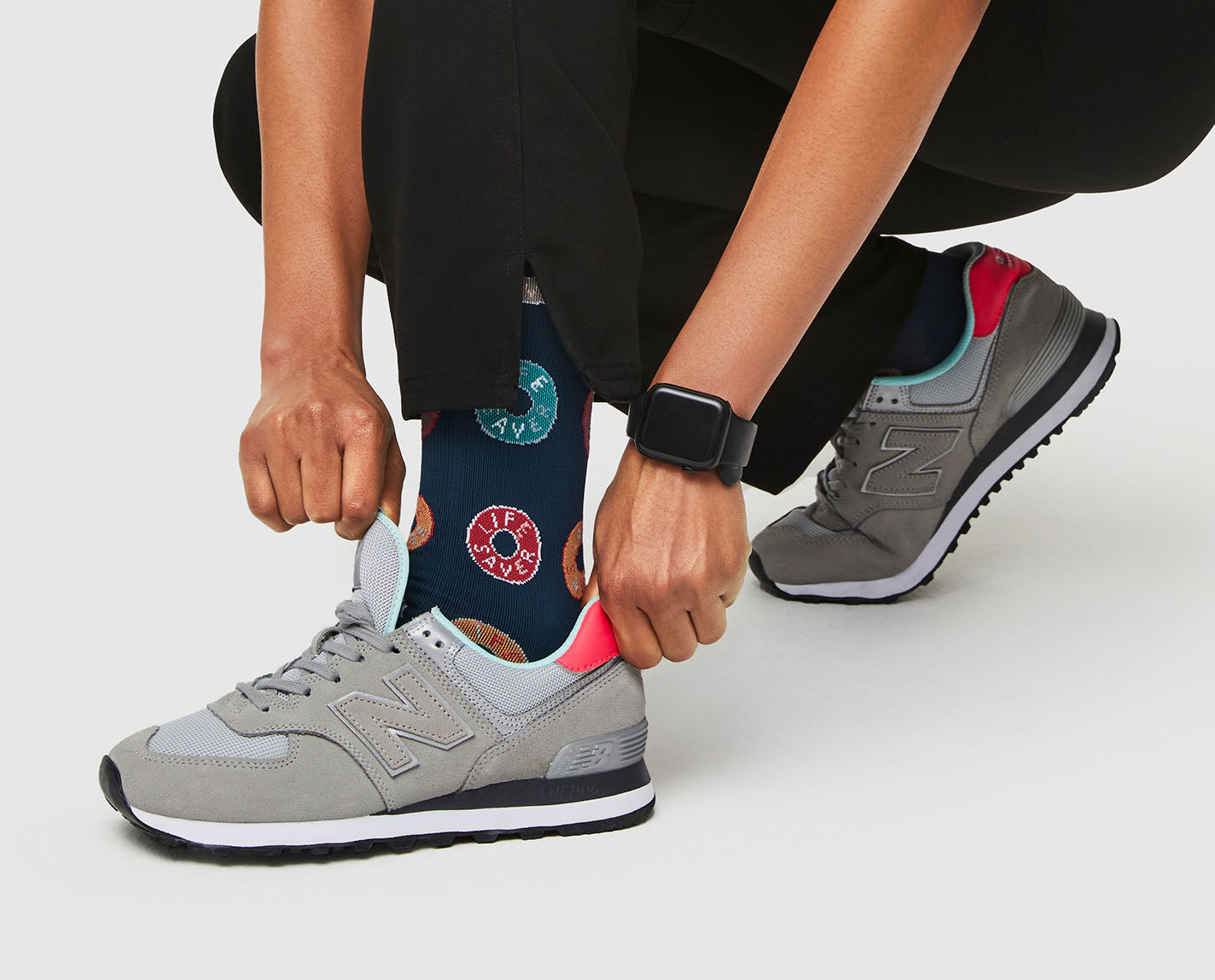 You're a lifesaver. Our 100% Awesome Compression Socks help relieve tired and achy legs. They're also breathable and ridiculously soft.