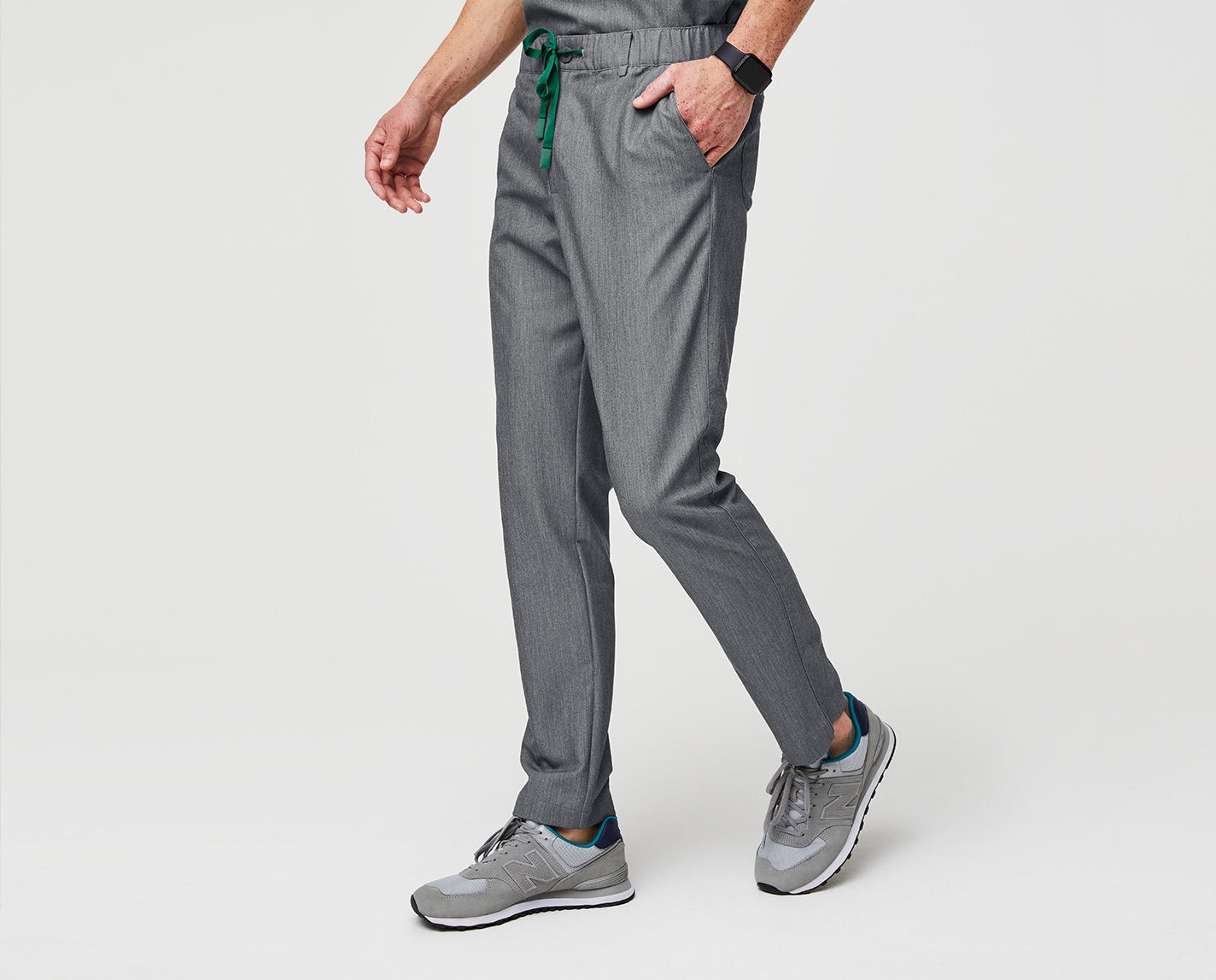 Whether you're working or working out. The Nazca is athletically inspired, designed with eight pockets, a slim fit and minimal details for an always-professional look.