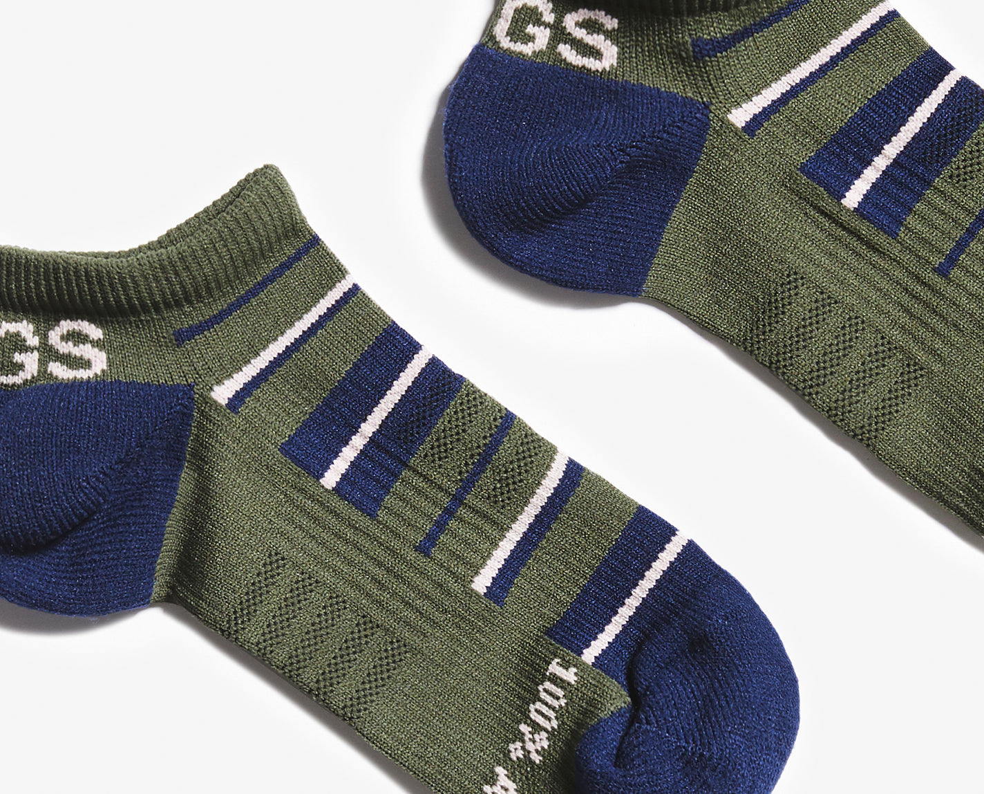 Don't mess with a classic. Our Olive Stripe 100% Awesome Ankle Socks are understated and match 99.9% of your FIGS. Bonus – they feature toe and heel padding, engineered arch support and our proprietary FIONdry moisture — and they're breathable and ridiculously soft