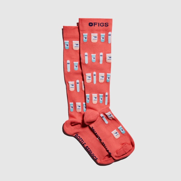 Bottle Service Compression Socks