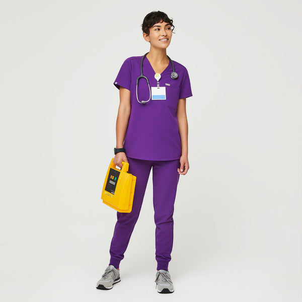Catarina™ One-Pocket Scrub Top
