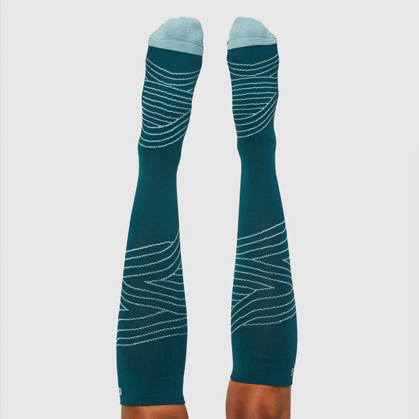 Waves Compression Socks