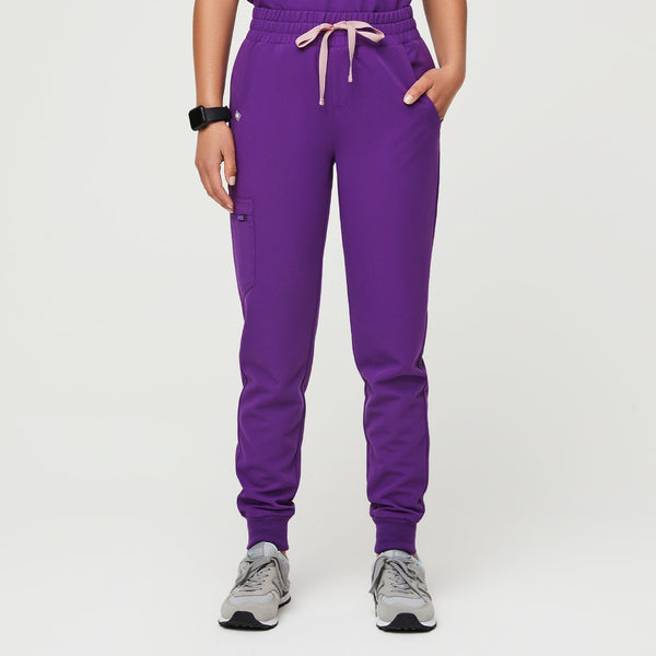 High Waisted Zamora Jogger Scrub Pants