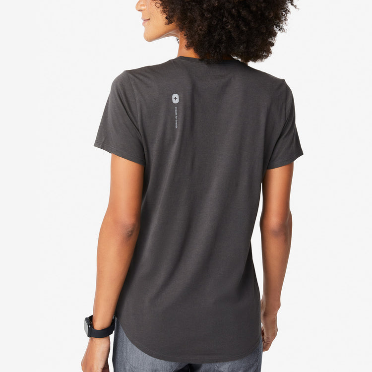 Charcoal Super Soft Shortsleeve Crewneck