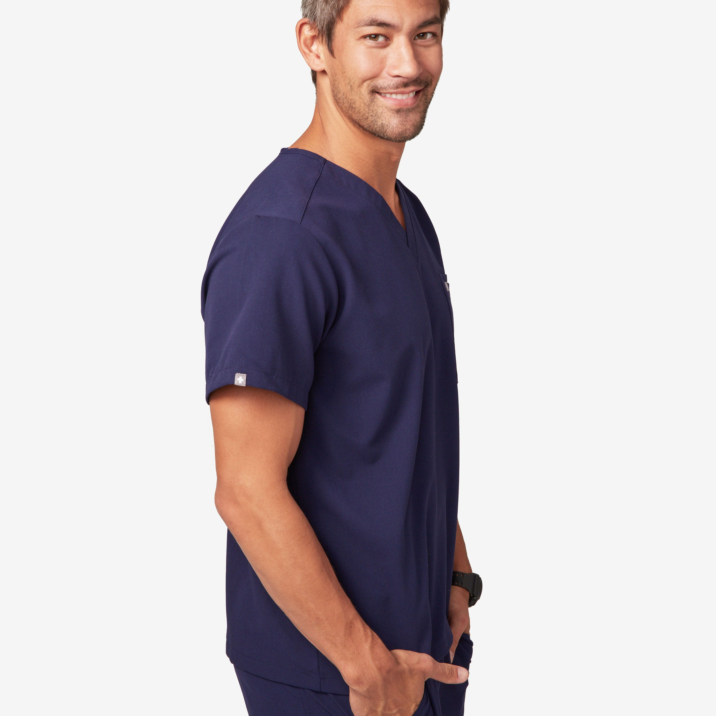 Mens cargo scrub pants axim figs mens leon two pocket scrub top nvjuhfo Image collections