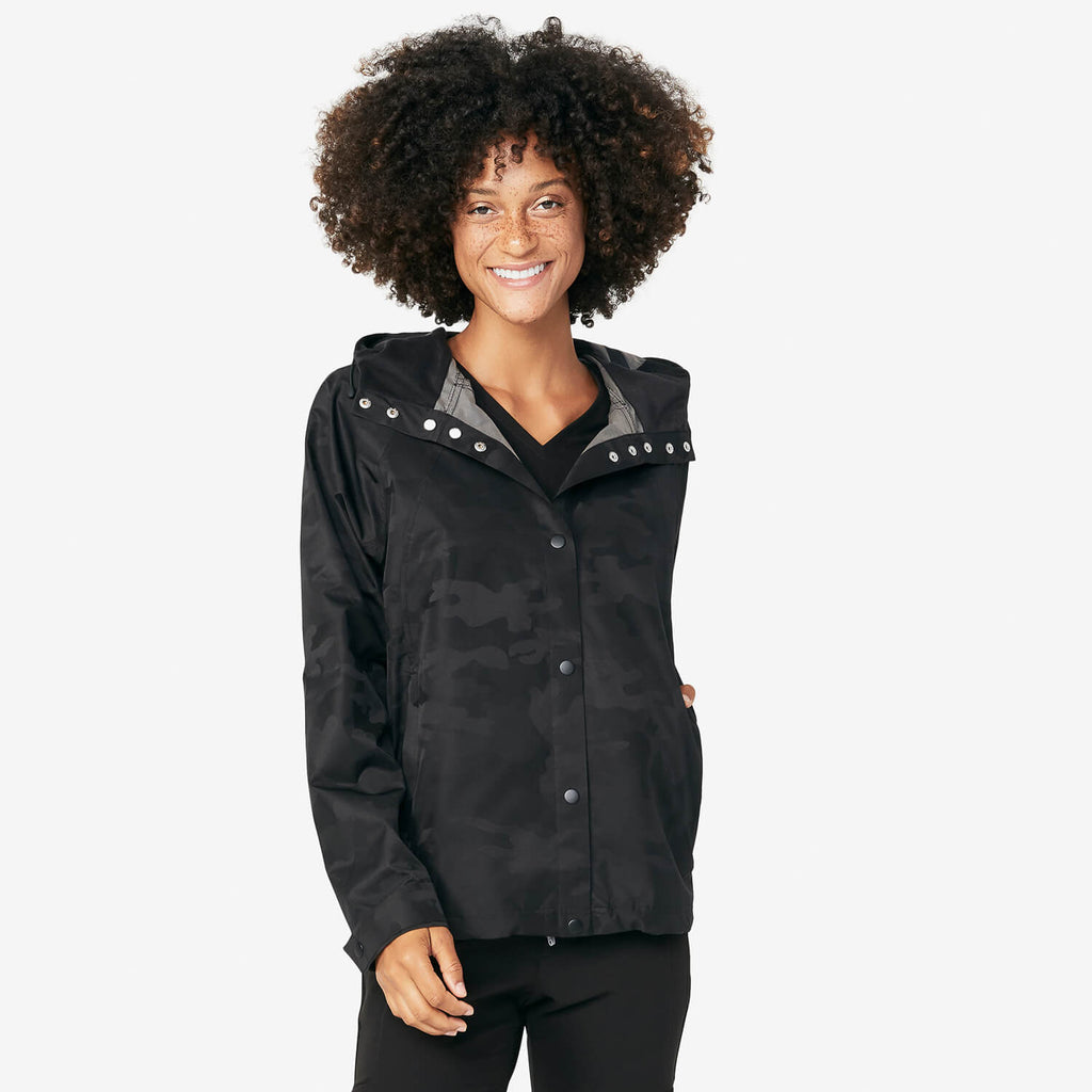 Women's Camo Windbreaker by Figs