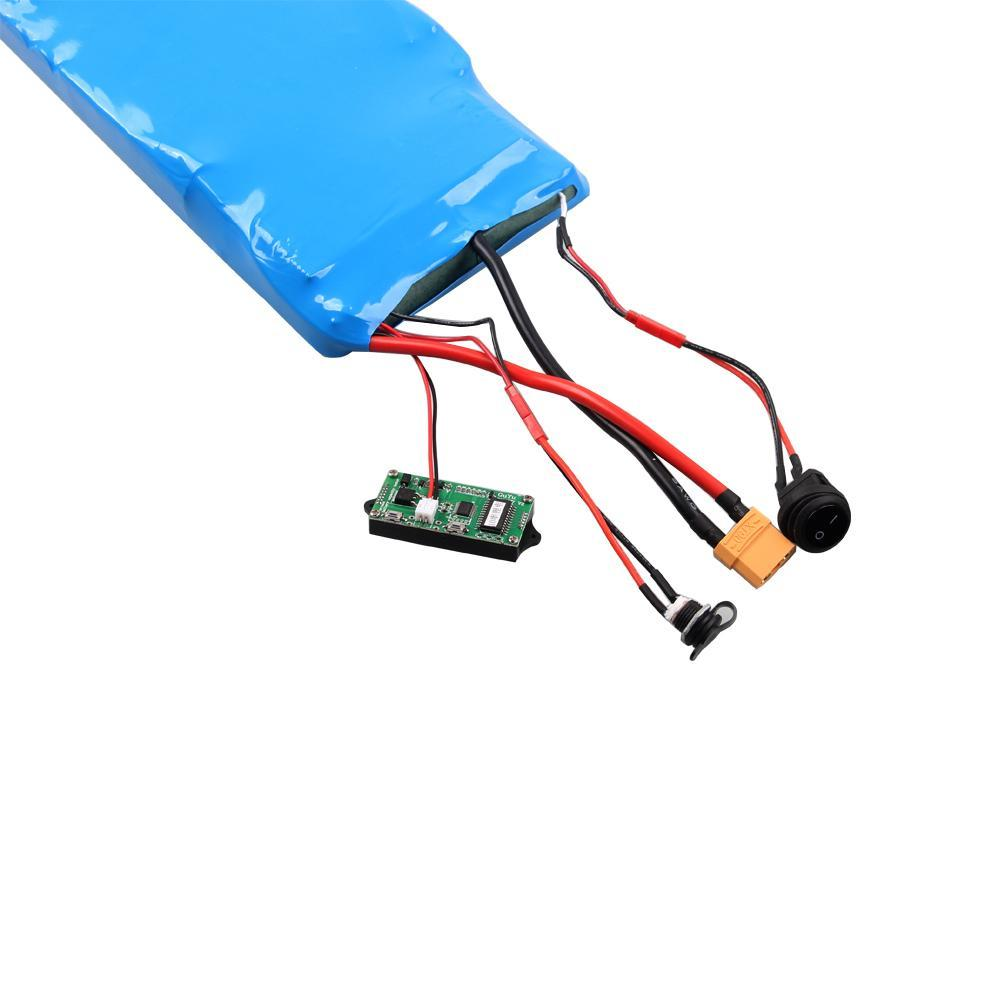 The Expediter (Long) - 12s8p 18650 Samsung 30Q - Single Flat Battery For Esk8 (Electric Skateboard)