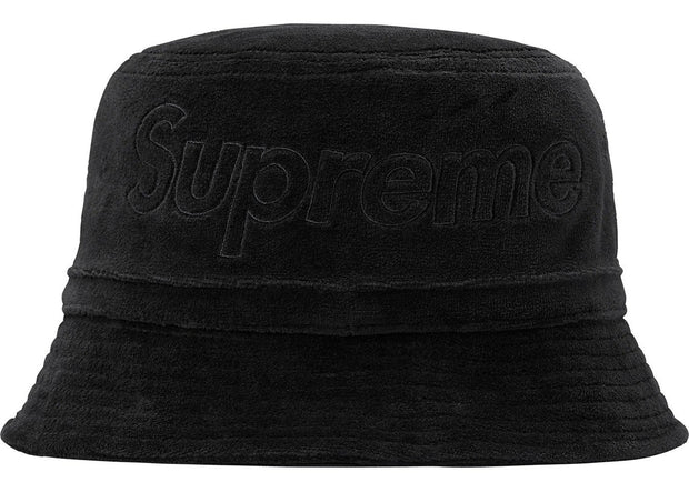 0a387843d Supreme LACOSTE Velour Crusher Black