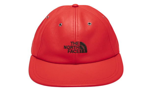 ac1793c2a Supreme x The North Face Leather 6-Panel Hat Red