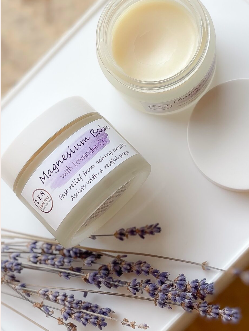 Magnesium Balm with Lavender Oil - large
