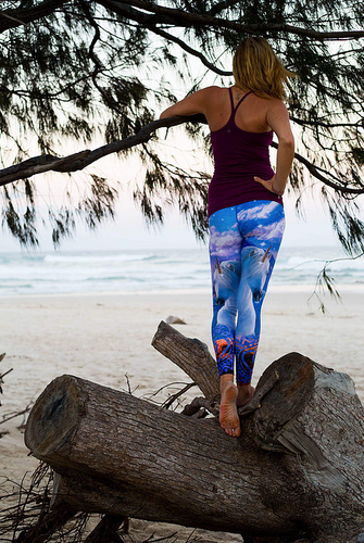 Flow Unicorn Full Length Legging