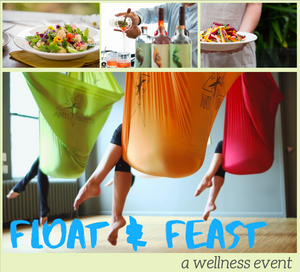 Float & Feast - a wellness event