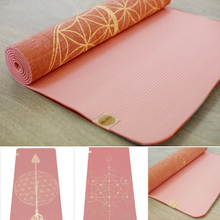 Yoga Tribe Mat Flower of Life