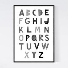 Load image into Gallery viewer, Alphabet Print