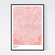 Load image into Gallery viewer, Aachen City Map Print