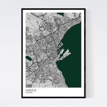 Load image into Gallery viewer, Aarhus City Map Print