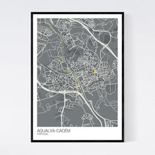 Load image into Gallery viewer, Agualva-Cacém City Map Print