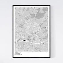 Load image into Gallery viewer, Airdrie City Map Print