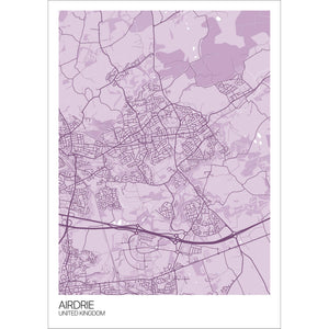 Map of Airdrie, United Kingdom