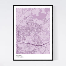 Load image into Gallery viewer, Map of Airdrie, United Kingdom