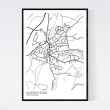 Load image into Gallery viewer, Alderley Edge Town Map Print
