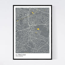 Load image into Gallery viewer, Map of Altrincham, United Kingdom