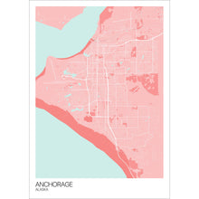 Load image into Gallery viewer, Map of Anchorage, Alaska