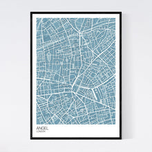 Load image into Gallery viewer, Angel Neighbourhood Map Print