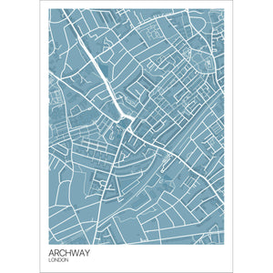 Map of Archway, London