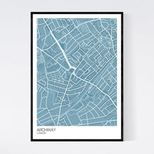 Load image into Gallery viewer, Map of Archway, London