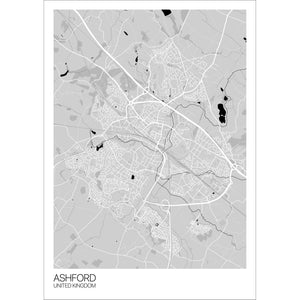 Map of Ashford, United Kingdom