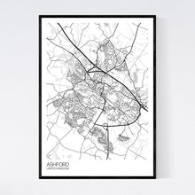 Load image into Gallery viewer, Ashford City Map Print